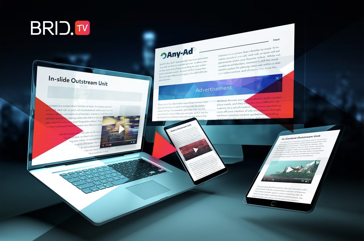 instream and outstream video ads