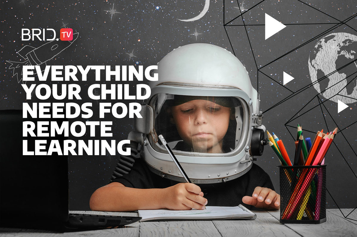 everything your child needs for remote learning