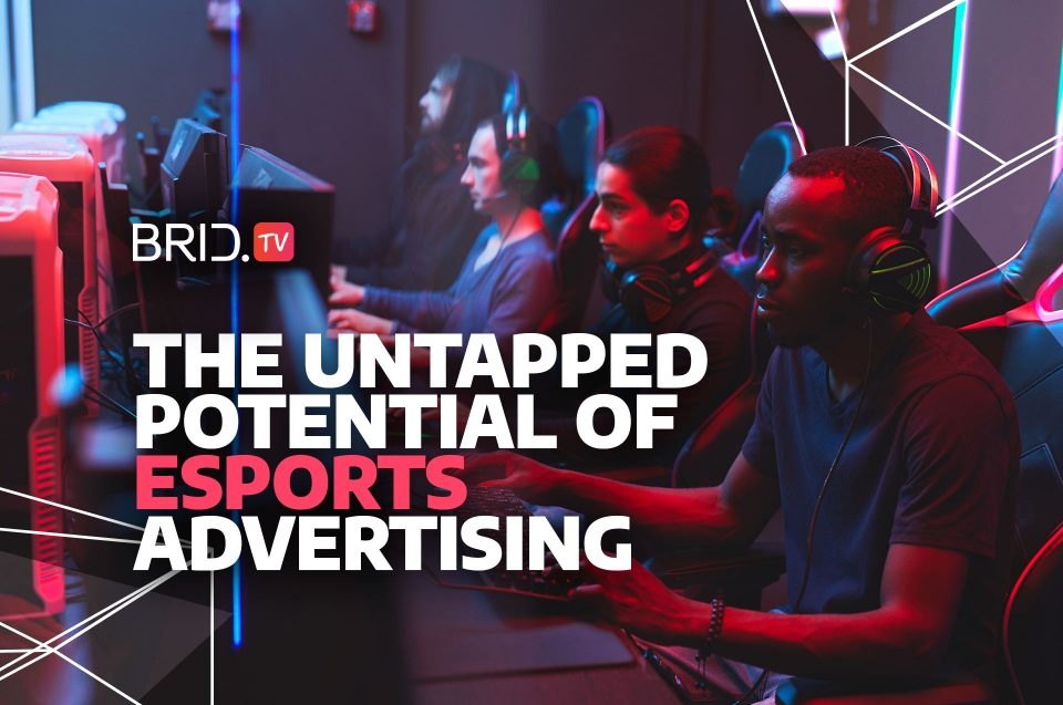 video gamers sitting at an esports event and the untapped potential of esports advertising written on top
