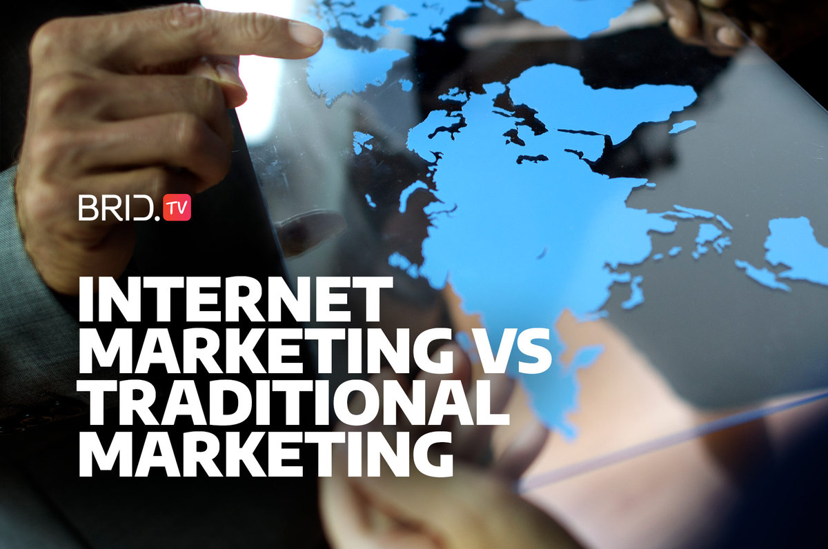 advantages of internet marketing over traditional marketing