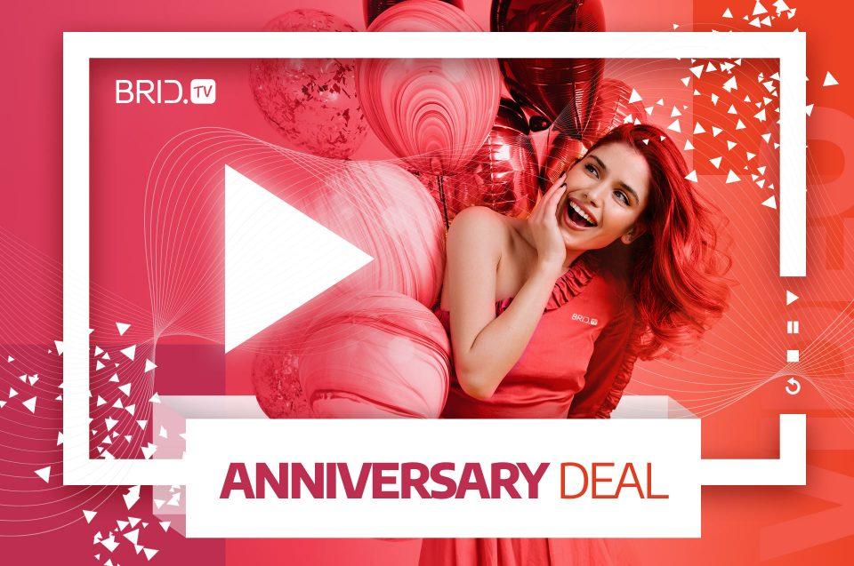 brid.tv anniversary deal
