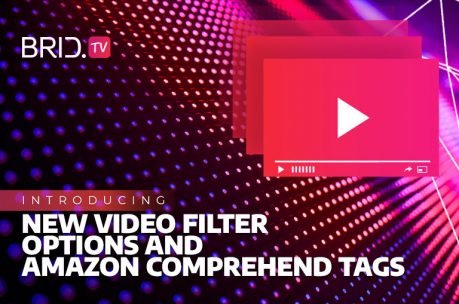 Organize Videos with New Filter Options and Amazon Comprehend Tags