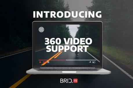 brid.tv 360 video support